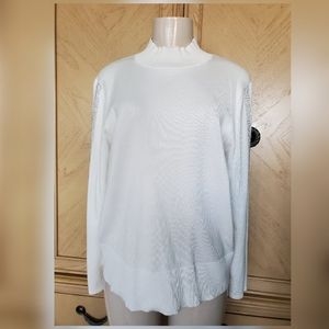 Pre-owned Cable & Gauge longsleeve shirt white